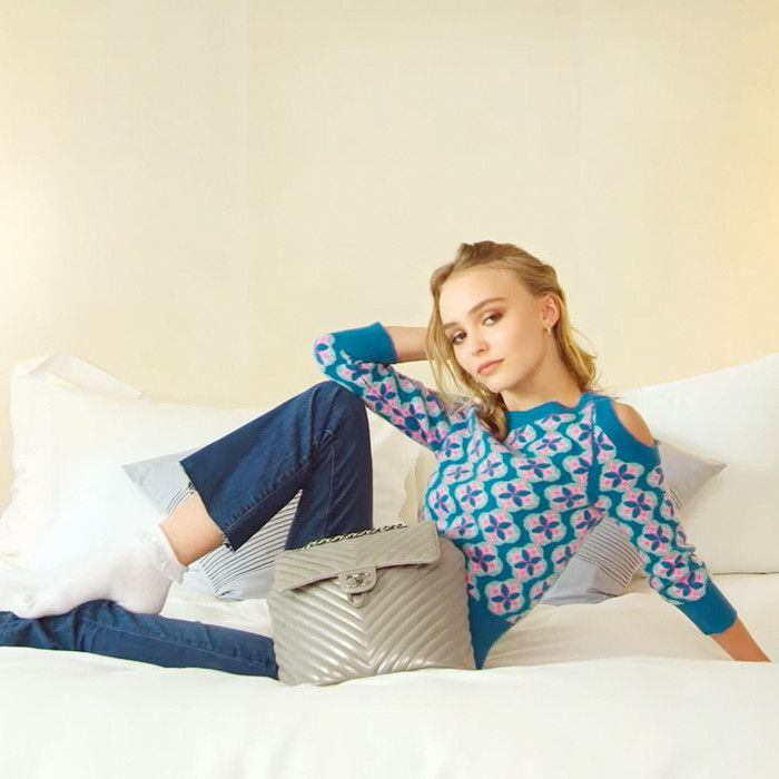 on feet images of cute popular stores The Sneakers Lily-Rose Depp Is Obsessed With | Who What Wear