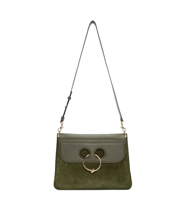 J.W. Anderson Green Large Pierce Bag