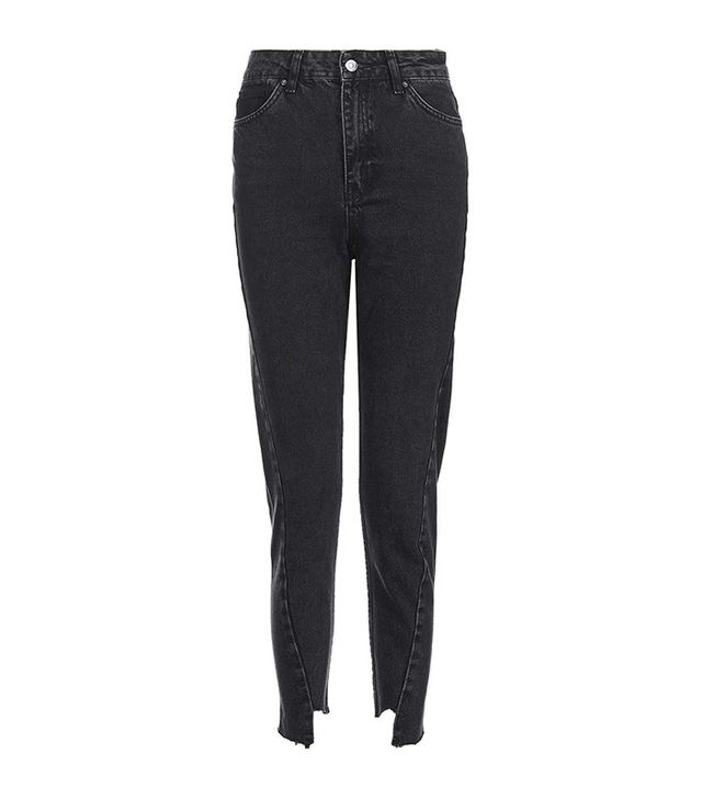 Topshop Moto Twisted Seam Mom Jeans