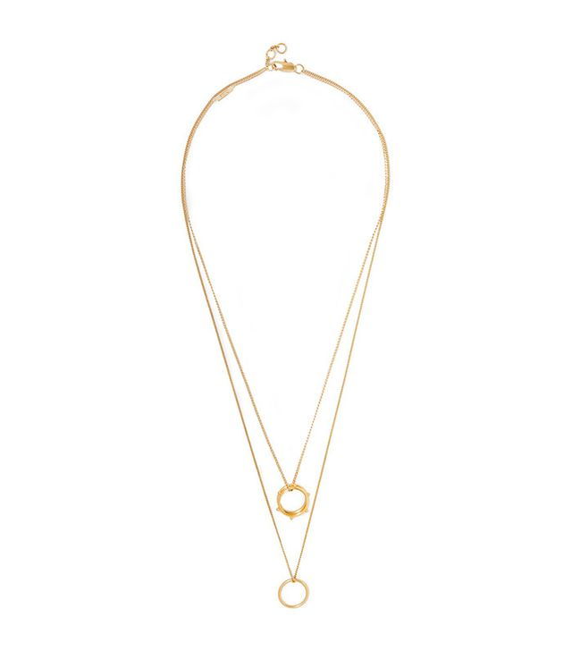 Chloé Carly Gold-Plated Necklace