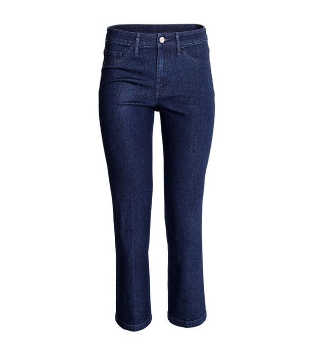 H&M Straight Cropped High Jean