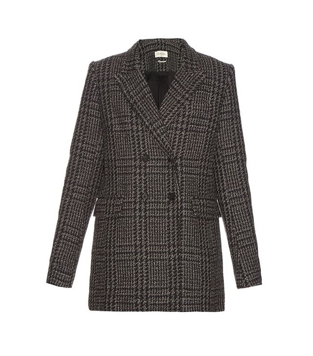 Isabel Marant Étoile Gilane Double-Breasted Tweed Jacket