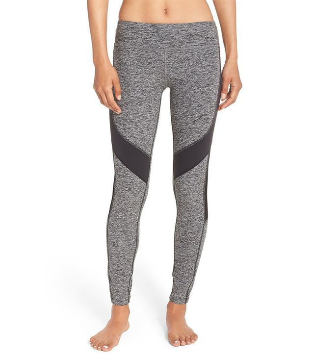 Beyond Yoga Side Mesh & Contrast Panel Leggings