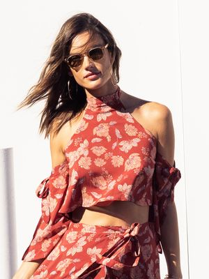 This Is Alessandra Ambrosio's Victoria Secret Fashion Show Workout