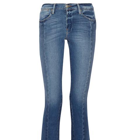 High Mix Straight-Leg Jeans