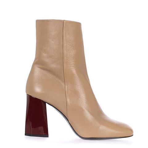 Harmony Facet Heel Boots