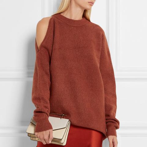 Cutout Oversized Knitted Sweater