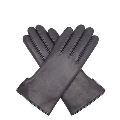 Rabbit-Fur Leather Gloves