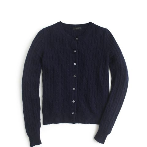 Cambridge Cable Cardigan Sweater
