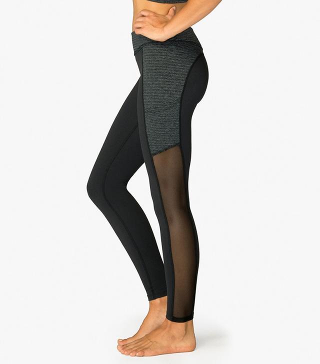 Beyond Yoga Rows Pocket Mesh Legging