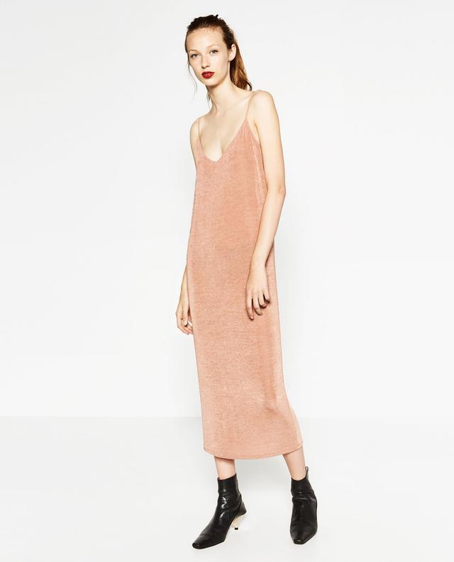 Zara Long Slip Dress