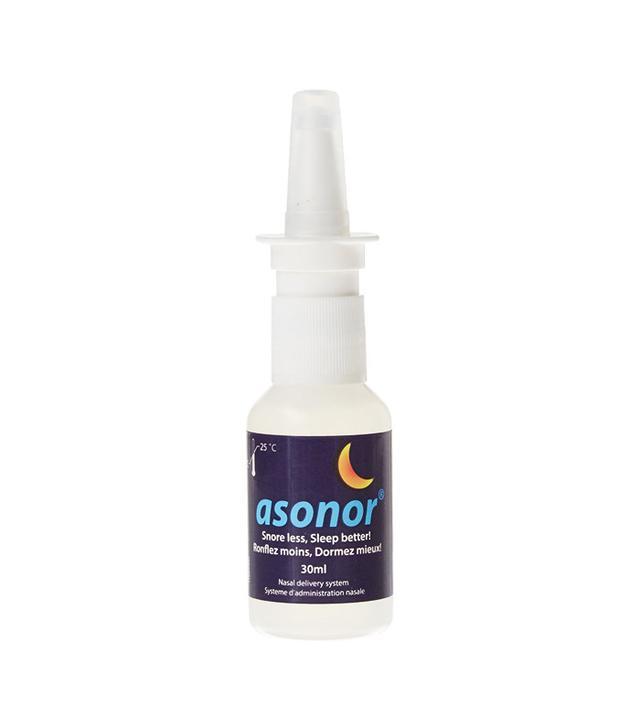 how to stop snoring: Asonor Anti Snoring Nasal Spray