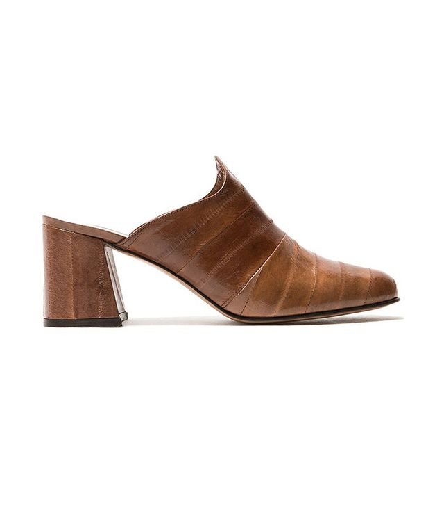Trademark Kriss Mule in Tobacco