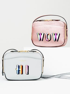 Love, Want, Need: Pop Art Stickers Everyone's Putting on Bags