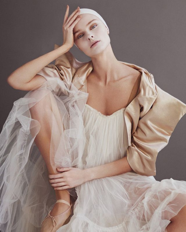 Financial Times' luxury lifestyle magazine offshoot, How to Spend It, did a beautiful editorial in 2013 featuring models wearing spot-on ballet-inspired pieces from designers...
