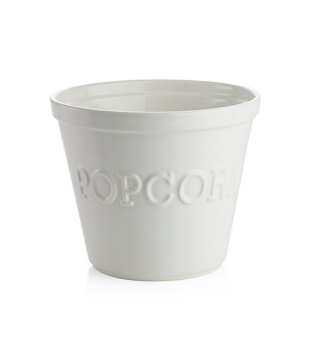 Crate and Barrel Large Popcorn Bowl