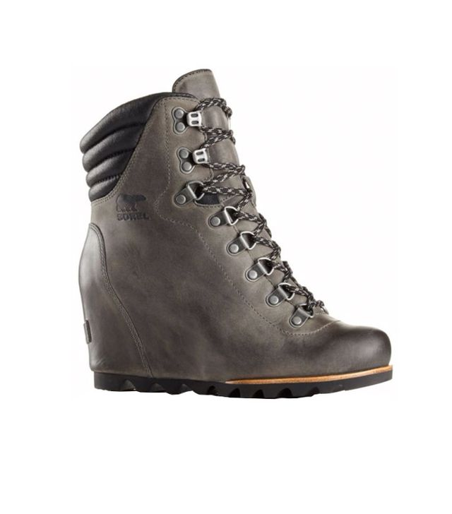 SOREL Conquest Wedge Boot in Gray