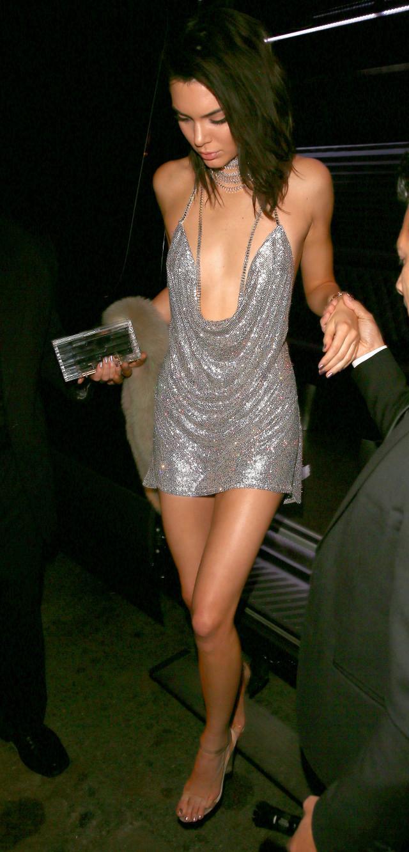 Kendall Jenner 21st Birthday Custom LaBurjoisie Swarovski Dress