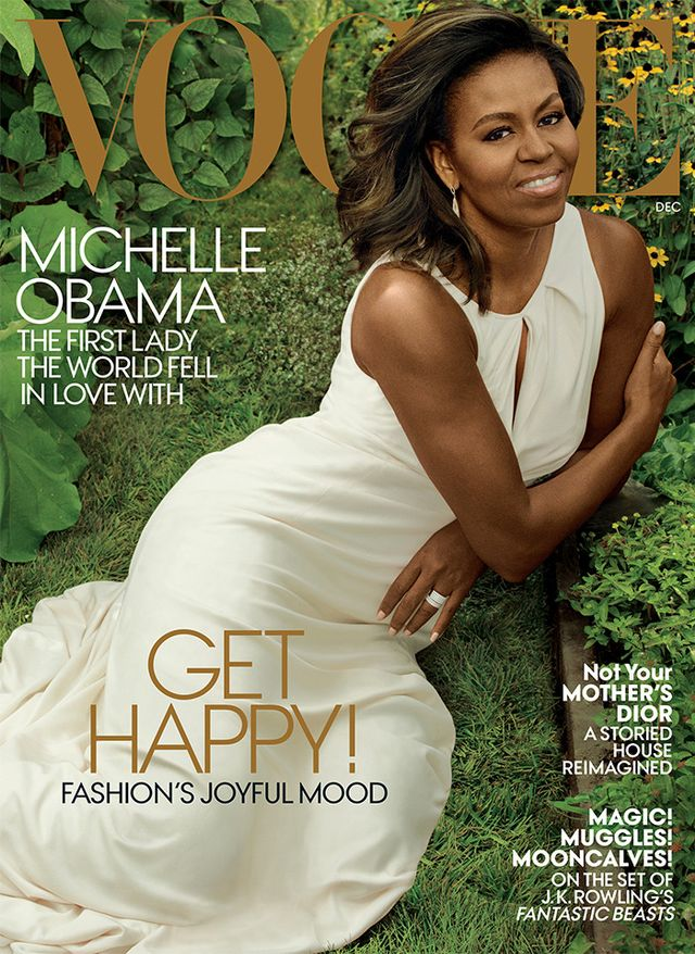 Head over to Vogue to read the full interview and cast your vote on Michelle Obama's best looks in the comments. 