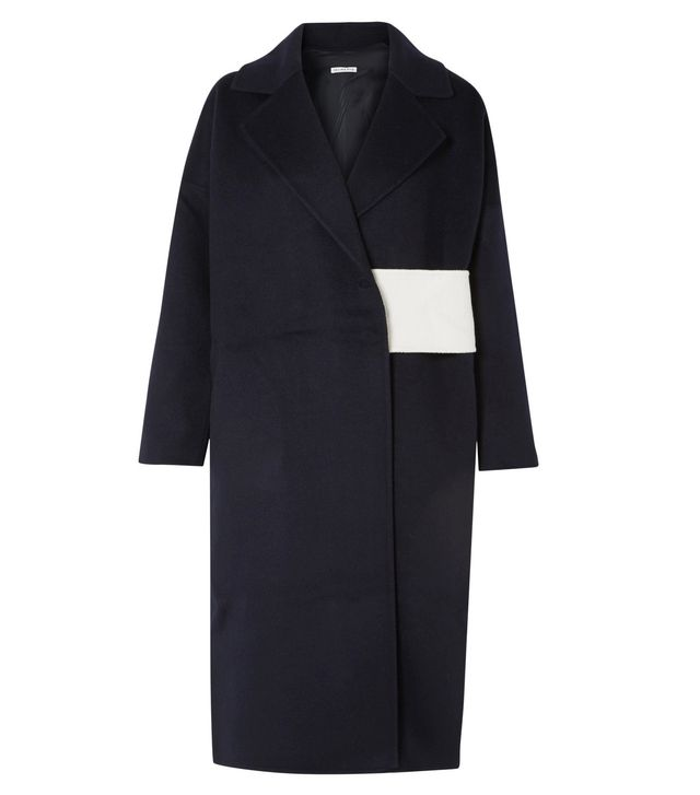 Kate Oversized Wool-blend Felt Coat