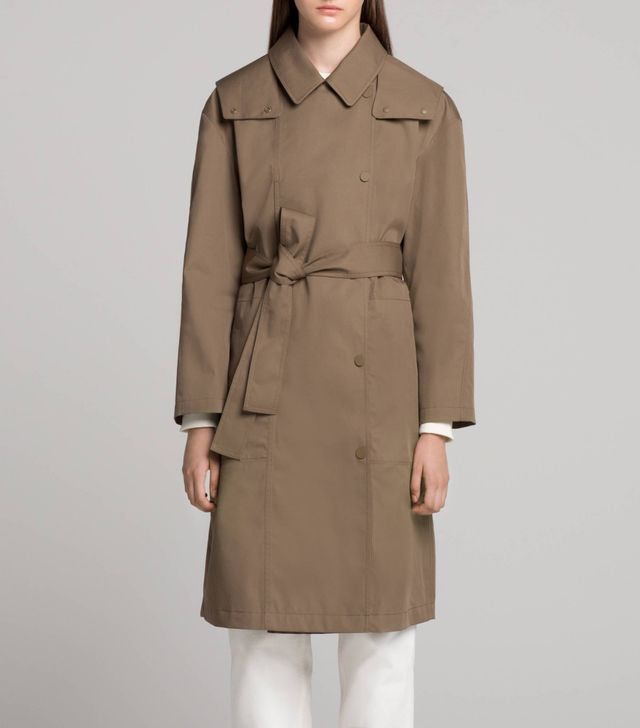 WOMEN U BLOCKTECH TRENCH COAT