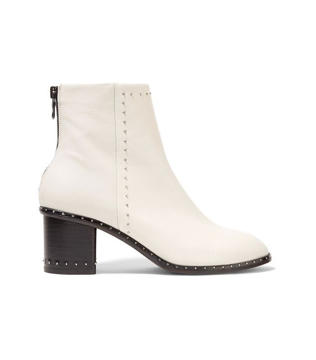 Rag & Bone Willow Studded Leather Ankle Boots