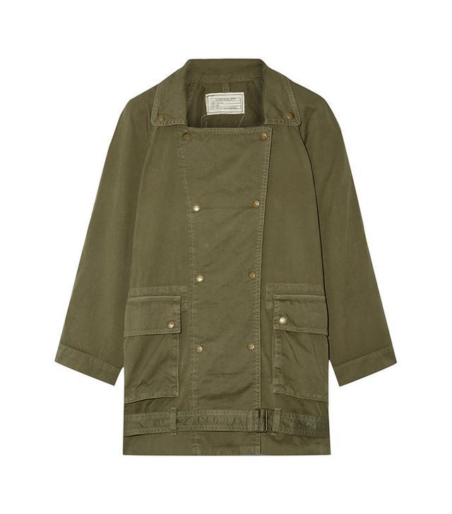 Current/Elliott The Infantry Cotton-Gabardine Jacket