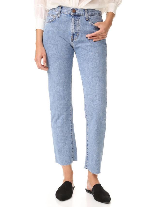 Current/Elliott The Original Straight Jeans