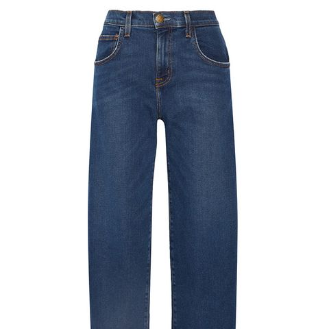The Barrel Crop Jeans