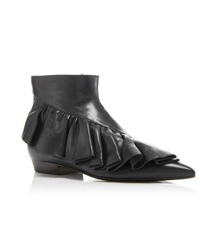 J.W. Anderson Ruffle Detail Ankle Boots