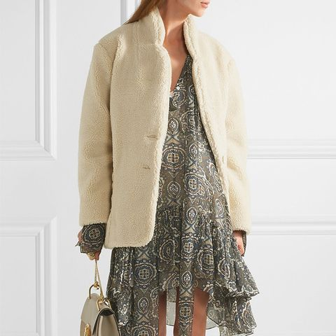 Prosper Faux Shearling Coat