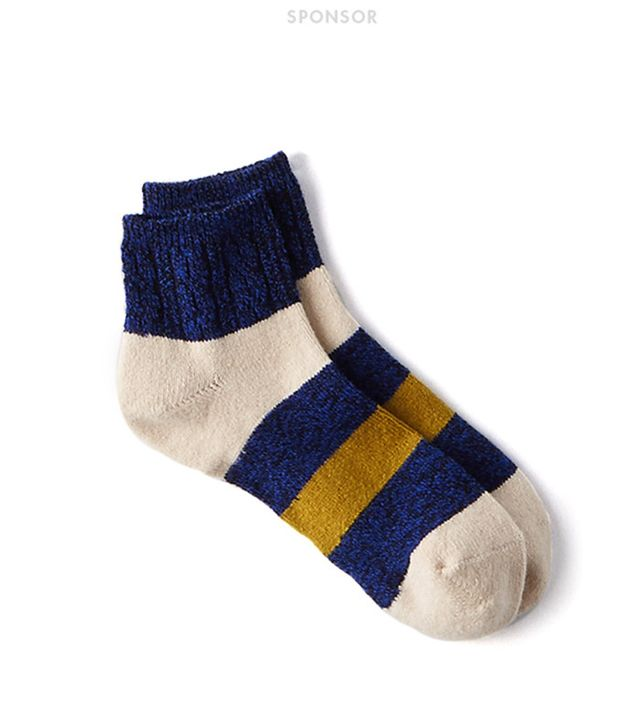 American Eagle Outfitters Colorblocked Stripe Ankle Socks