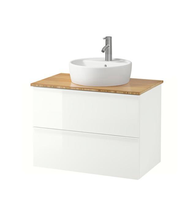 IKEA Godmorgan Cabinet Countertop Sink