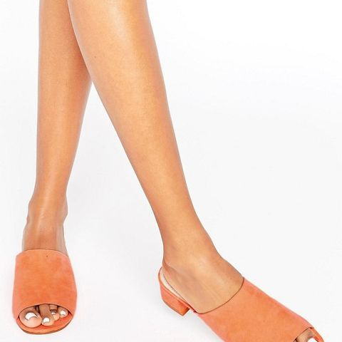 Fiddle Mules Orange