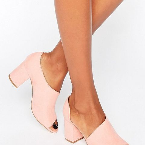 ODIN Peep Toe Shoes