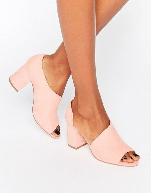 ASOS ODIN Peep Toe Shoes