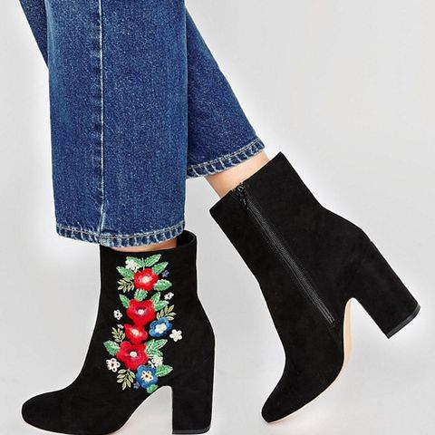 Edith Embroidered Boots