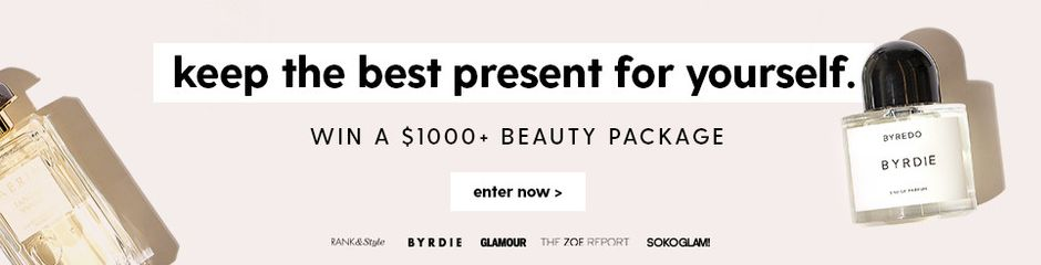 Win a $1000+ beauty package