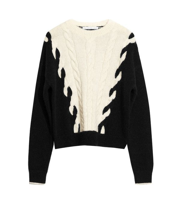 & Other Stories Chain Stitch Knit Sweater