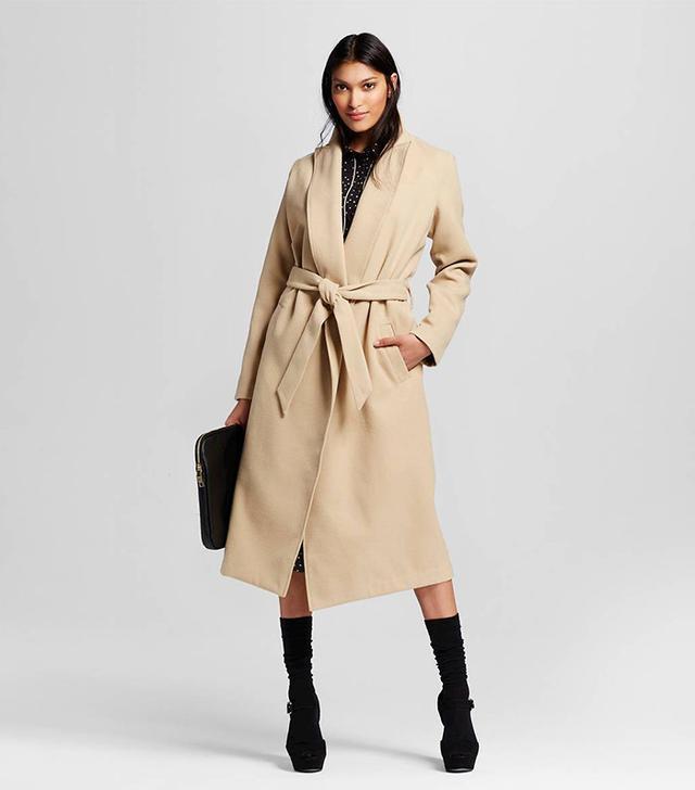 Who What Wear Women's Great Wrap Coat