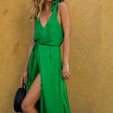 Edie Dress Emerald