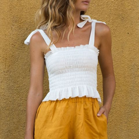 Summer Top White