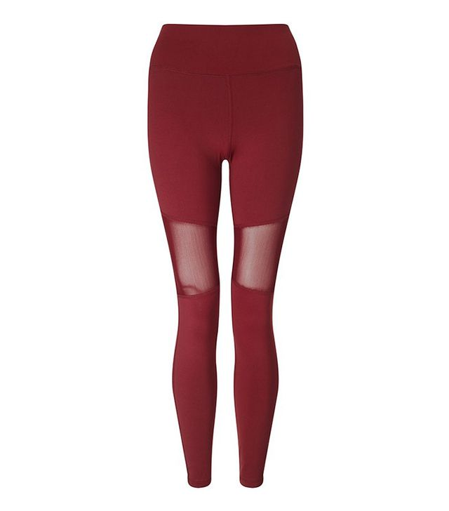 Varley Sycamore Burgundy Compression Tight