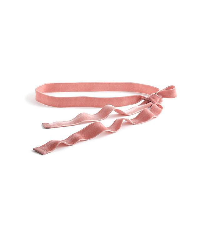 J Crew Velvet Ribbon Belt