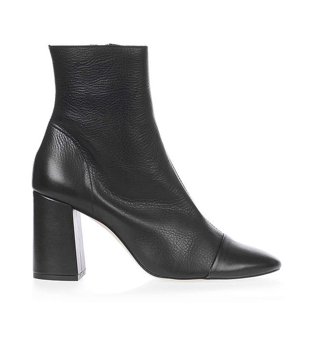 Topshop Happy-Days Cap Toe Boots