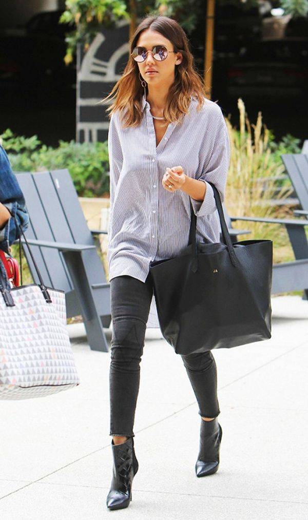 how to wear ankle boots and skinny jeans like a celebrity