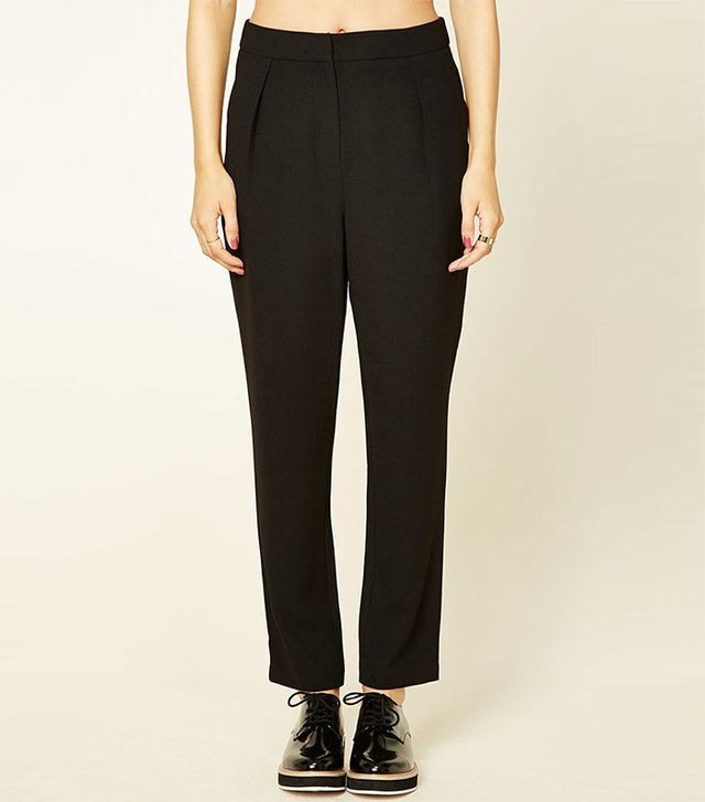Forever 21 Contemporary High-Rise Trousers