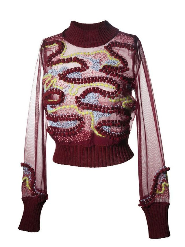 Chikimiki Clara Embroidered Top