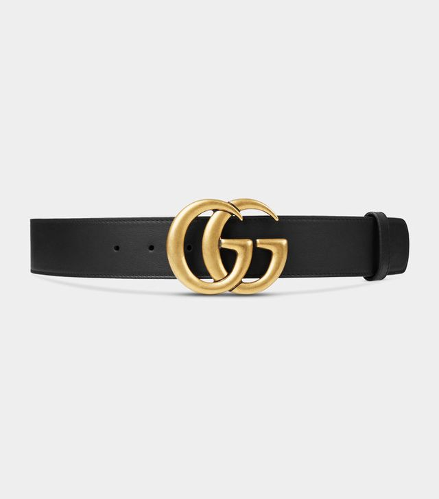 Gucci Ayers Belt with Double G Buckle