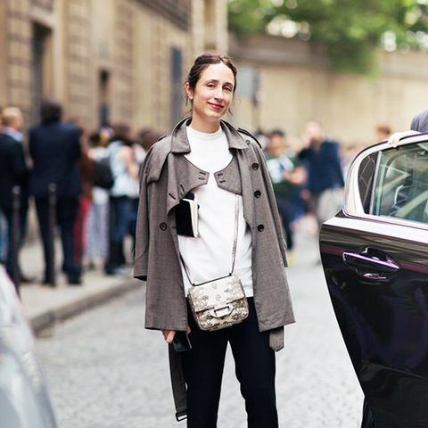 Why You Should Bookmark This Vogue Editor's Style